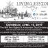 Living History Cemetery Tour (April 13)